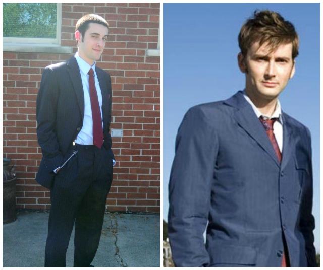 Josh & David Tennant as the 10th Doctor