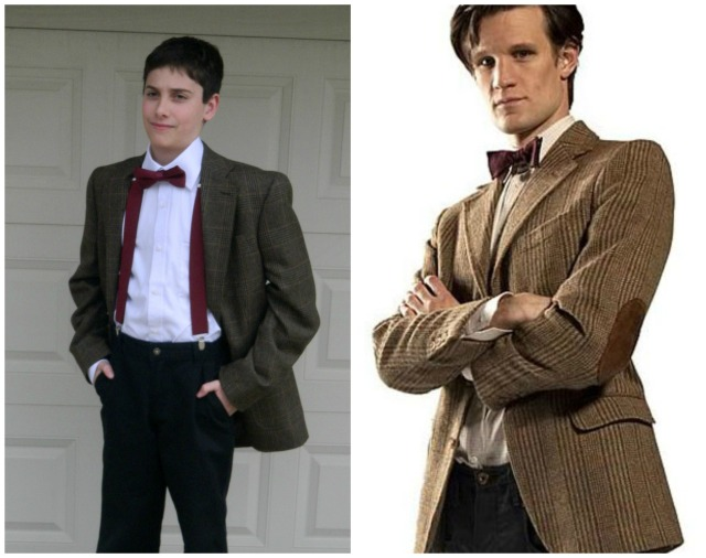 Griffin and Matt Smith as the 11th Doctor