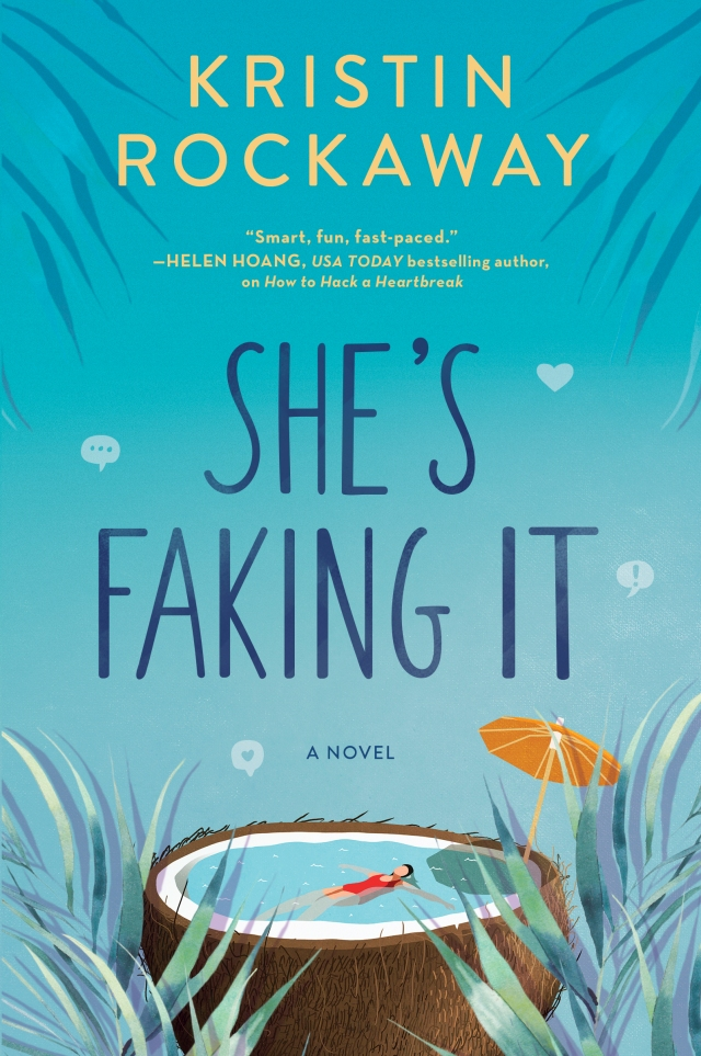 She's Faking It cover photo